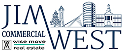Jim West Commercial Real Estate Logo